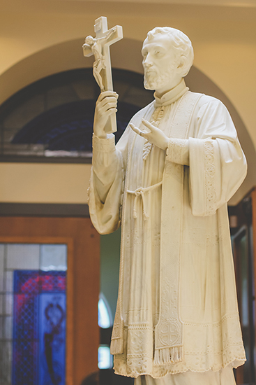St. Francis Xavier Statue